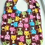Toddler Bib Cat Kitten Bib Terry Cl..